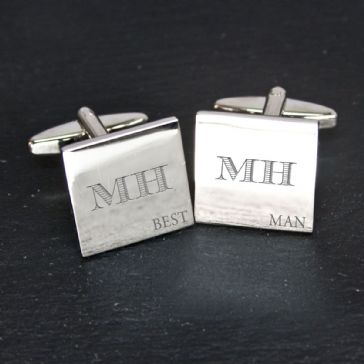 Pacific Style Best Man Cufflinks